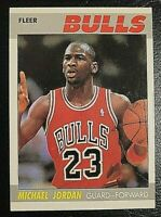 1987 Fleer Michael Jordan #59 Basketball Card - PSA 9 OR 10 - MINT [SDB #1005]