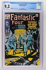 Fantastic Four #87 - Marvel 1969 CGC 9.2 Doctor Doom Appearance.