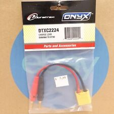 Duratrax Charge Lead Banana Plugs to Xt90 Male DTXC2224