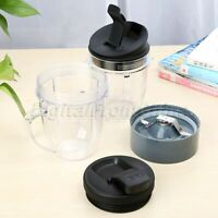 Set Replacement Parts Extractor Blade/ Small Size Cup/ Spout Lid for Nutri Ninja