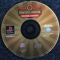 Nectaris Military Madness Ps1 Psone Playstation one Tested Disc Only Rare