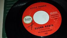 """ROUND ROBIN Little People / Sit And Dance DOMAIN 1005 POPCORN MOD 45 7"""""""