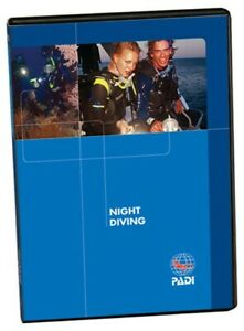 PADI NIGHT DIVING SPECIALITY DVD