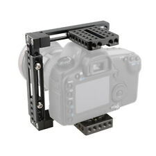 CAMVATE Camera Cage Kit Adjustable Height for Canon 80D 5D MarkIII D3300 GH5