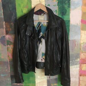 Ted Baker Leather Jacket Size 3