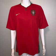 NIKE AUTHENTIC PORTUGAL 2008/09 HOME SOCCER JERSEY MEN'S XL