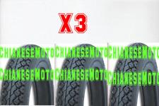3 COPERTONI GOMME PNEUMATICO RUOTA PER VESPA 50 LAMBRETTA 2.75.9 2/75/9 D'EPOCA.