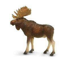 Safari Ltd. Bull Moose Wildlife Replica Figure Toy 181029 New Free Shipping