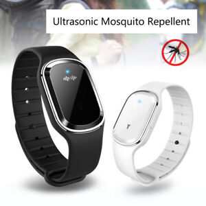 Ultrasonic Anti Mosquito Insect Pest Bugs Repeller Wrist Bracelet Band