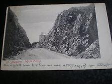 old postcard Wyche Cutting Great Malvern used 1904