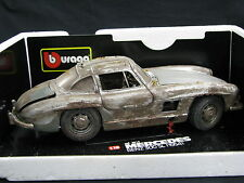 Bburago Special Edition Mercedes-Benz 300 SL 1:18 Unrestaurierte Träume #3 (JS)