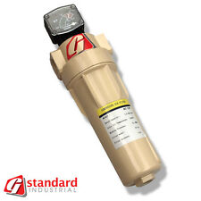 "GS 200 Compressed Air Filter Inline 200cfm Donaldson Van Air IR Zeks 2"" ports"