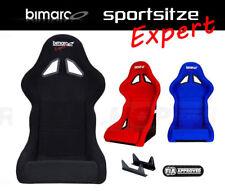 BIMARCO EXPERT Sportsitz Schwarz Rot Blau Sport Rally Sitze Glasfaser