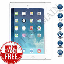 NEW 100% GENUINE TEMPERED GLASS FILM LCD SCREEN PROTECTOR FOR APPLE IPAD AIR 1-2