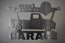 FORD F-100 Metal Garage Sign  Pickup 1956 56 / Metal car garage sign