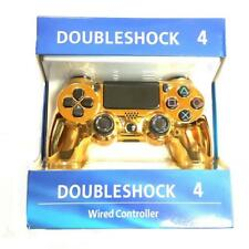 New-Gold-PS4 PlayStation 4 Dualshock 4 Joystick Gamepad  Wired USB Controller
