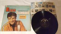 ELVIS PRESLEY CLAMBAKE BLACK RCA VICTOR 1967 USA PRESS LSP/LPM  DOG ON TOP