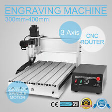 CNC Router 3040T 3Axis Graviermaschine Fräsmaschine Spindle Graviergerät solid