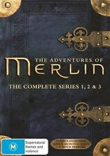 THE ADVENTURES OF MERLIN - SERIES 1 to 5 - DVD BOXED SET