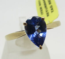 Pear Yellow Gold 14 Carat Fine Rings