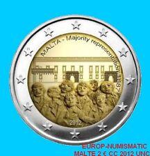 """MALTE 2012 2 EURO CC """"MAJORITE REPRESENTATIVE"""" PREVENTE   PRIX TOP : 8,50 € !!!!"""