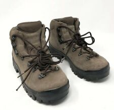 Boreal Vibram Brown Suede Leather Trekking Mountaineering Boots Size 40 7.5 EUC