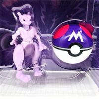 Pokemon Poké Ball Mewtwo Deformation Doll Action Figure Child Gift Toy New Kids