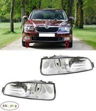 FOR SKODA SUPERB II 2008 - 2013 2X NEW FRONT FOG LIGHT LAMPS LEFT + RIGHT