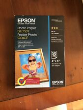"EPSON 10CM X 15CM (6"" X 4"") GLOSSY PHOTO PAPER 200GSM 50 SHEETS - C13S042547"