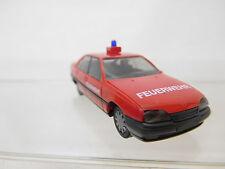 eso-949Herpa 1:87 Opel Omega GLS Feuerwehr sehr guter Zustand