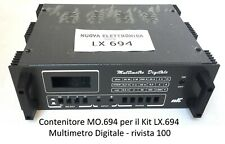 Mo.694 Container New Electronics x Multimeter Digital LCD Desk lx694