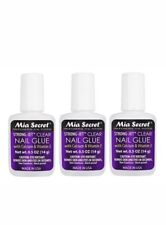 Mia Secret Nail Glue 3 bottle bundle .. message with any questions ..feedback