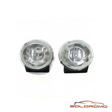 Set Of 2 Universal Fog Spot Lights Lamps Car Van 12v H3 55w