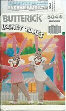B 5044 child COSTUME sewing PATTERN authentic BUGS BUNNY Looney Tunes sizes 4~14