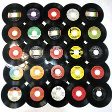 LOT 25x - 60's 70's country folk vinyl records 45 RPM 1970's Assorted 60s LOOK!!