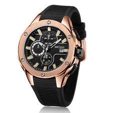 Mens Watch Wristwatch Chronograph Sports Quartz  Luxury Watch Military Resistant