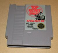 Golgo 13: Top Secret Episode for Nintendo NES Fast Shipping Authentic