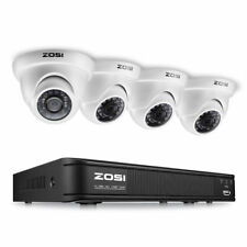 ZOSI HD 1080N 8CH HDMI DVR 1500TVL IR Outdoor CCTV Security Dome Camera System