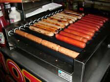 More details for fki gl14 rt45/2 - electric hot dog roller grill with14 rollers. perfect working