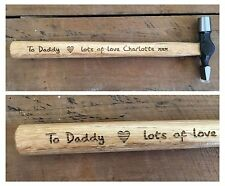 Personalised Gifts For Him Daddy Dad Great Grandad Mens Hammer Birthday Gifts