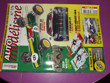T.0 Auto Modelisme n°176 Ferrari FF Elite Hot / Jeep Willys / Porshe 356 A