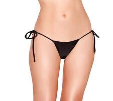 Stripper Exotic Dancer Metallic Tie Side Scrunch Butt Sequin Bikini Outfit