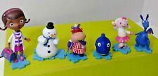 Disney Doc McStuffins Lot of 6 Doc Hippo Owl  Lamb