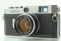 [Exc+4] Canon P Rangefinder Film Camera 50mm F1.8 L39 Lens From JAPAN