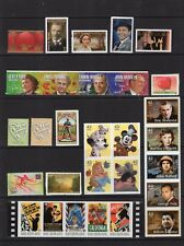 US 2008 NH Complete Commemorative Year Set 81 stamps listed below- Free USA Ship