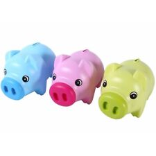 Neu Piggy Bank Münze Cash Collectible Save Box Schwein Kinder Spielzeug .