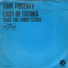 7inch TOM FOGERTY	lady of fatima	BLUE COVER EX (S1519)