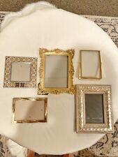 Gold Decorative Picture Frames - $20
