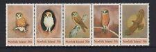 Norfolk Island - 1984, Boobook Eule, Vögel Set - M/M - Sg 338/42