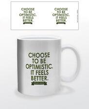 DALAI LAMA BE OPTIMISTIC 11 OZ COFFEE MUG TEA CUP INSPO MOTIVATION QUOTE BUDDHA!